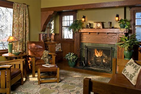 arts and crafts home interiors interior color palettes for arts crafts homes arts