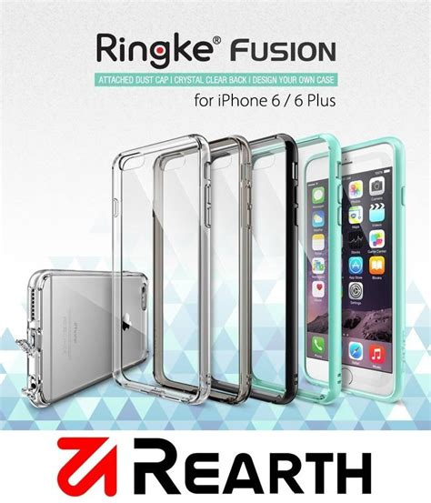 Mantap Rearth Iphone 6 6s Ringke Fusion Crysta Diskon ori rearth ringke fusion for end 10 14 2018 4 34 pm