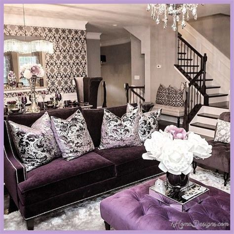 Purple Interior Design Purple Interior Design Ideas 1homedesigns