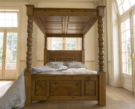 four poster bed balmoral from revival beds revival collection ambassador four poster solid pine bed