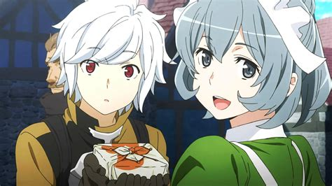 anime danmachi danmachi anime animeclick it