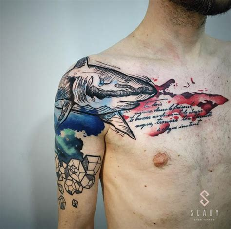 50 fantastic shark tattoos that are better than shark week