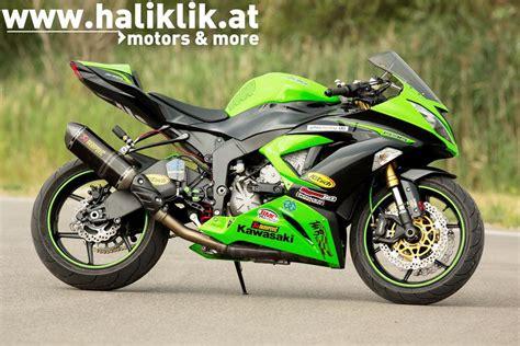 Motorrad Tuning Kawasaki Zx6r by Kawasaki Zx 6r Tuning Modellnews