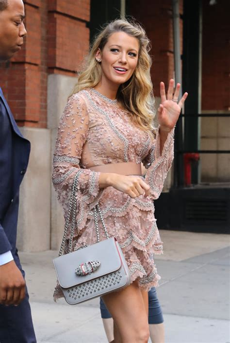 Style Double Shot: Blake Lively in NYC   Tom   Lorenzo
