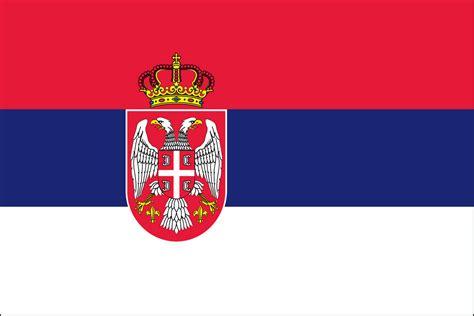 SERBIA FLAG w/SEAL   Liberty Flag & Banner Inc.