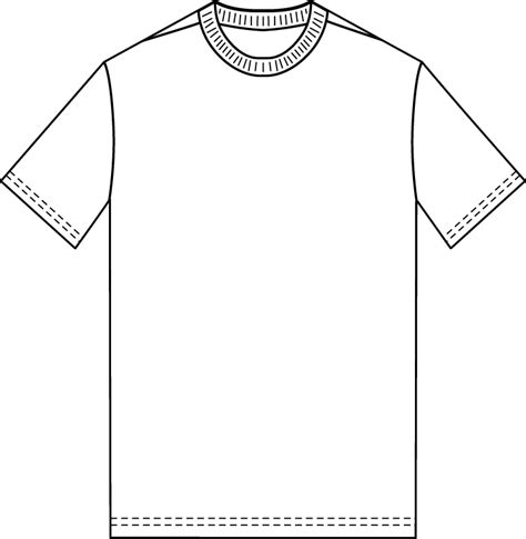 empty t shirt template the sketchpad blank t shirt template