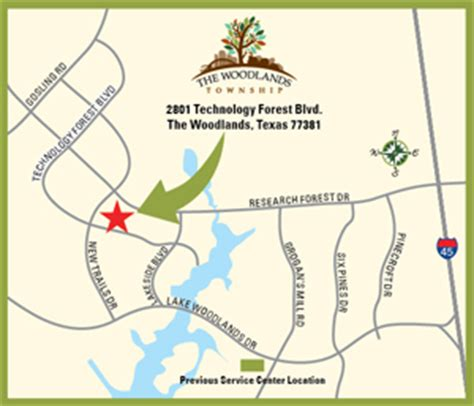 map of the woodlands texas the woodlands township tx the woodlands township maps