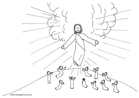 coloring pages jesus ascension ascension coloring page coloring home