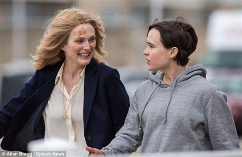what is up with julianne forhead julianne moore film snew movie alongside ellen page who