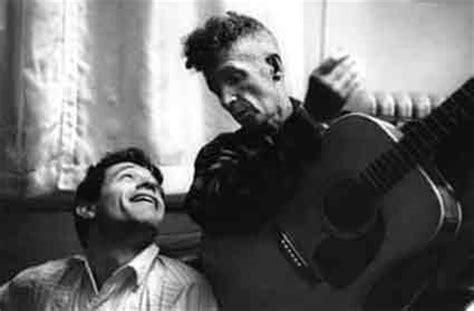 Ramblin Elliott Takes The Floor by January 29 1961 Bob Meets His Idol Woody Guthrie Nsf