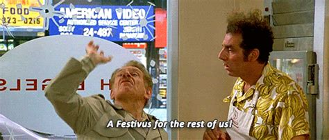 Message To Eli No Seinfeld For You by Jerry Seinfeld Wishes Fans A Happy Festivus See His