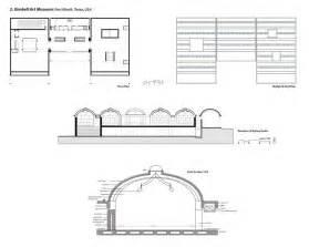 Kimbell Art Museum Floor Plan Floor Plan Roof Plan Elevation And Constructional
