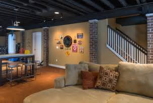 exposed basement ceiling exposed basement ceiling home design