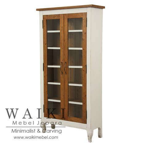 Lemari Bufet Minimalis Modern Kombinasi 2 Warna lemari rak display duco waiki mebel