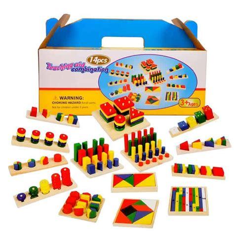 speelgoed kind 3 jaar mega set jucarii montessori lemn 14 jocuri ham bebe