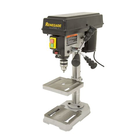 bench mount drill press r20013b renegade drill press bench mount 5 spd 300w 13mm