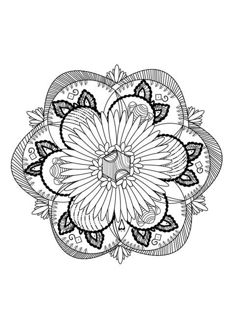 imagenes de mandalas para niñas dibujos para colorear mandalas imprimir