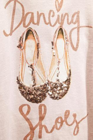 Sandal T Payet buy pink sparkly ballet shoes t shirt 3 16yrs from the next uk shop sequins