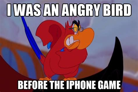 Angry Birds Memes - jedi mouseketeer meme week aladdin s angry bird