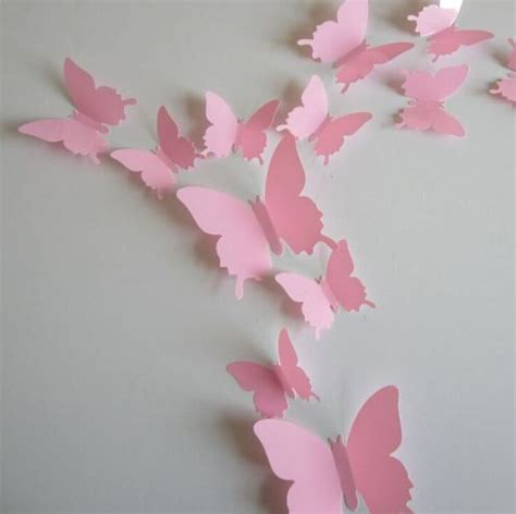 3d Butterfly Wall Sticker Stiker Dinding Kupu Kupu Yellow 12pcs harga 3d butterfly wall sticker kupu kupu stiker dinding id priceaz
