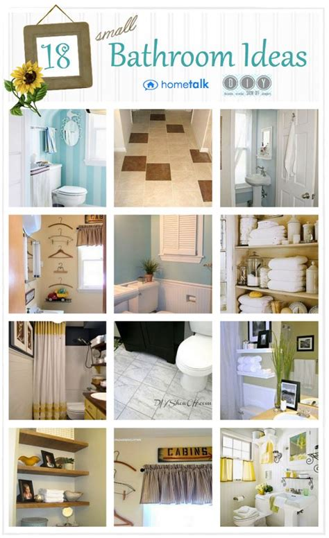 Small Bathroom Inspiration Diy Show Off Diy Diy Bathroom Decor Ideas