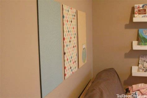 blog how to prepare your wall for a smart tiles peel and how to make a fabric wall hanging the ribbon retreat blog