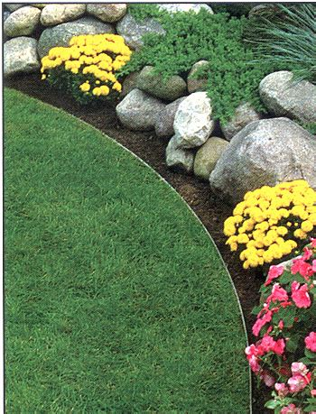 metal flower bed edging cost to edge a garden bed 2017
