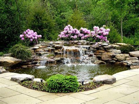 garten wasserfall ideen eine oase im garten gestalten wasserfall ideen