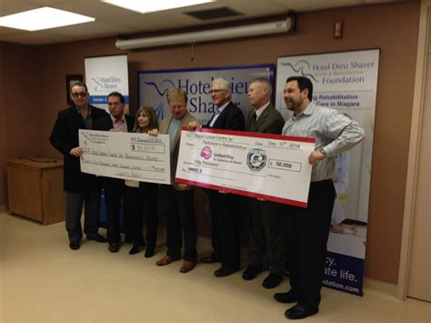S Detox St Catharines by 130 000 Donated To Parkinson S Rehab Centre At