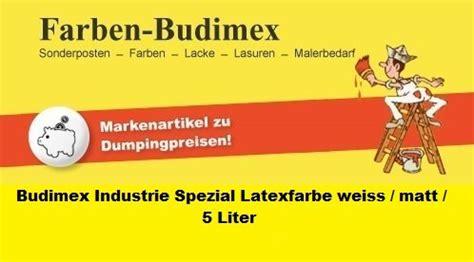 latexfarbe matt abwaschbar budimex industrie spezial latexfarbe weiss matt 5