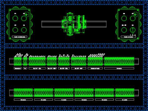 delta programable logic controller installation dwg block