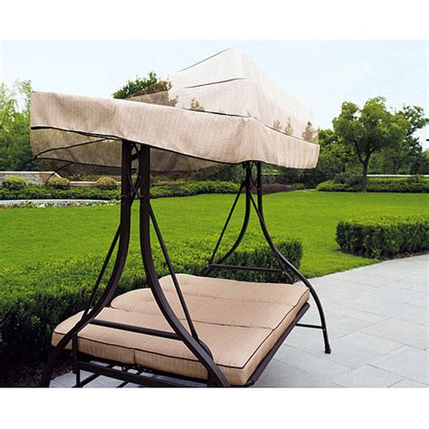 swing lifestyle home page replacement canopy for mainstays sand dune 3 seater