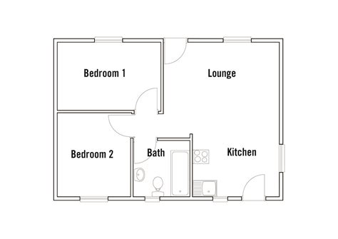 bachelor flat floor plans property investment nelspruit summer rain private estate