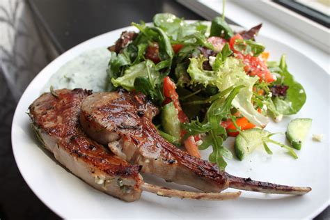 fried lamb chops pan fried lamb chops with rosemary and garlic yuliya s