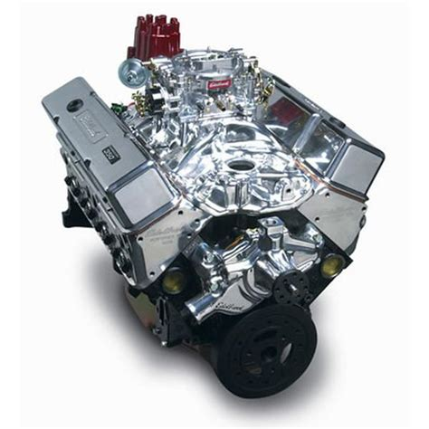 edelbrock chevy 350 410 hp performer rpm finish