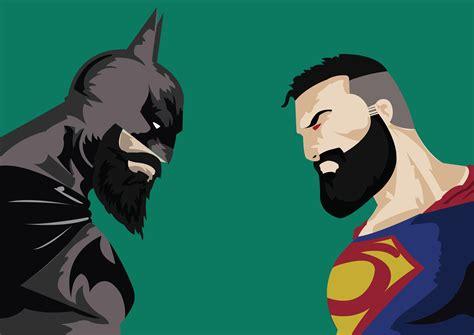 imagenes 4k superman 1280x720 batman vs superman with beard 720p hd 4k