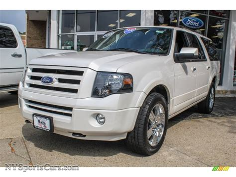 Expedition E6728 Black White 2010 ford expedition el limited 4x4 in white platinum tri coat metallic b53438 nysportscars