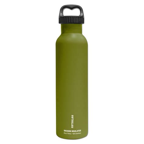25 oz 750ml vacuum insulated bottle olive green