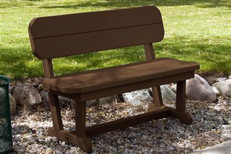 park bench materials park bench made from eco friendly recycled plastic lumber