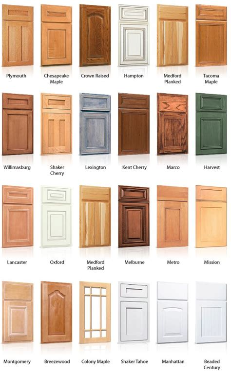 types of kitchen cabinet doors best 25 kitchen cabinet doors ideas on