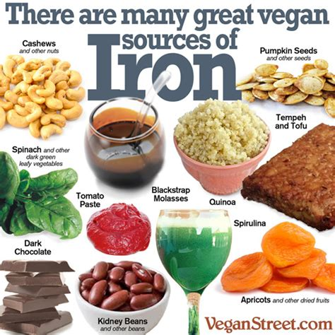 vegetables w iron vitamin supplements for vegans and slaughter