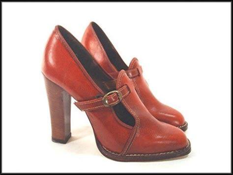 vegan high heels 70 s loafers vintage high heel vegan shoes size 8