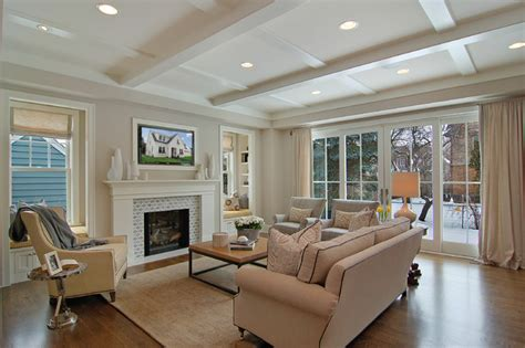Great Family Rooms | great neighborhood homes transitional family room