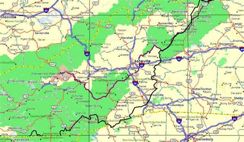 map of the blue ridge parkway blue ridge parkway map holidaymapq