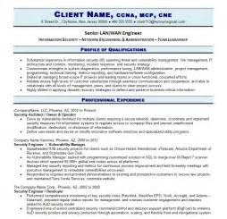 Exle It Resumes by Professional It Resume Resume Writing Guild