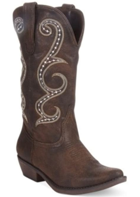 macy s boots womens american rag american rag dawnn western boots only at