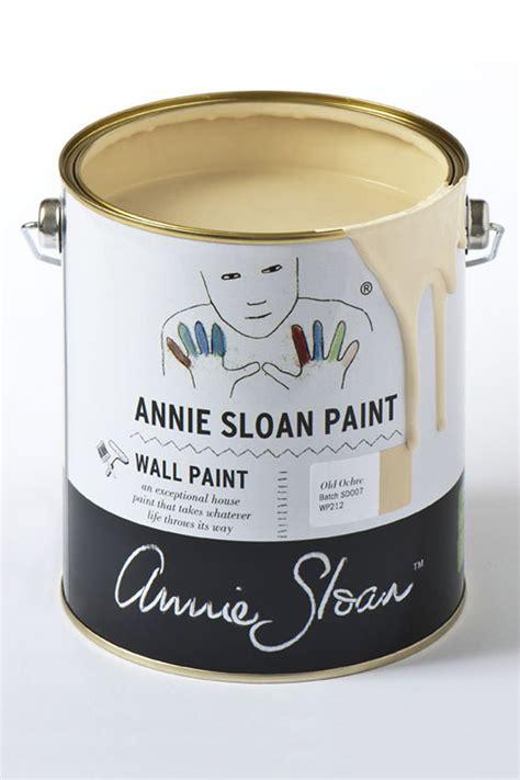 annie sloan  ochre wall paint