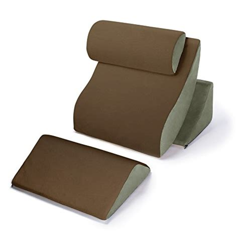 bed support pillows wedges body positioners memory foam kind bed support pillow comfort system set ebay