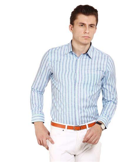 T Shirt Brookyln Bank Diskon blues light blue stripes shirt buy