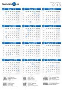 Calendar 2018 Colombia Calendario 2018